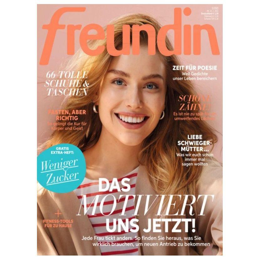 """24 Ausgaben der Zeitschrift """"Freundin"""" direkt für 14,90€ (statt 78€)"""