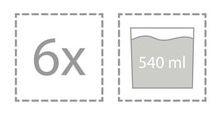 6er Pack Bluespoon Kristall Gläser Sidro mit je 540ml für 18€ (statt 22€)
