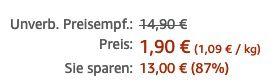 Preisfehler? 10 Tüten funny frisch Chips Ungarisch für 1,90€   Prime