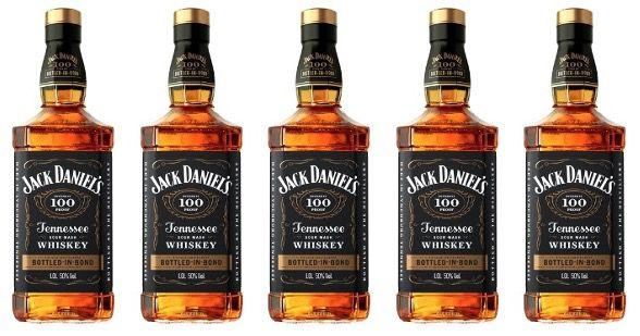 2x Jack Daniels Bottled In Bond 50% 1 Liter in schickem Geschenkkarton für 58,50 (statt 71€)