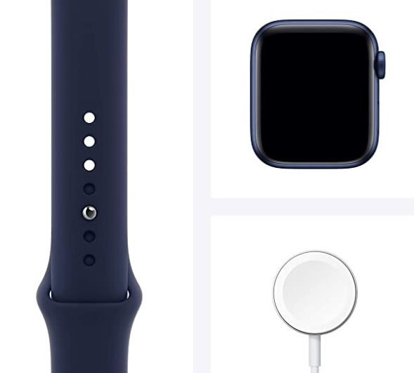 Apple Watch Series 6 (GPS + Cellular) 40mm für 426,29€ (statt 482€)