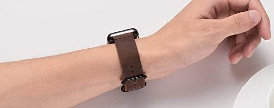 BesBand Retro Lederbänder für die Apple Watch 38mm bis 44mm ab 6,79€ (statt 17€)