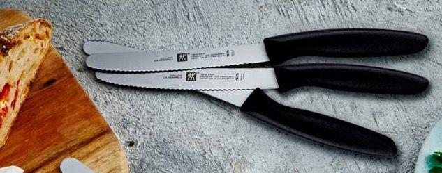 6er Pack Zwilling Twin Grip Küchenmesser mit Wellenschliff für 19,99€ (statt 50€)