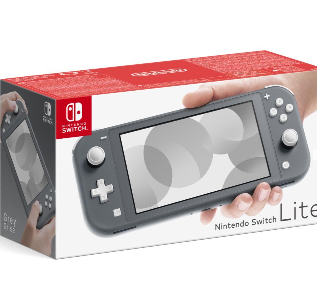 Nintendo Switch Lite in Grau für 166,90€ (statt 190€)