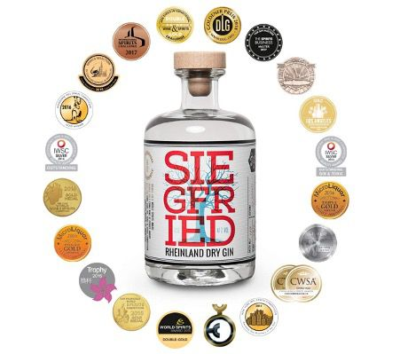 Siegfried Dry Gin 0,5L 41,0% für 23,99€ (statt 29€)