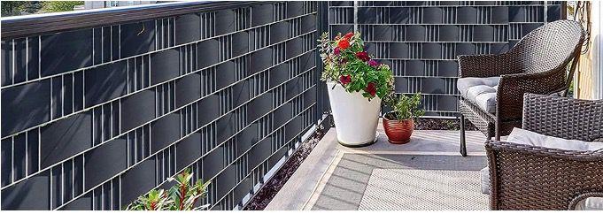 30% Rabatt auf PVC Sichtschutzstreifen in 2 Farben   z.B. 10x 2,52 Meter x 19cm für 27,99€ (statt 40€)