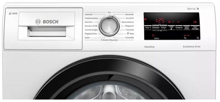 Bosch WAU28SIDOS Frontlader Waschmaschine (9kg, 1400 U/Min) ab 489€ (statt 599€)