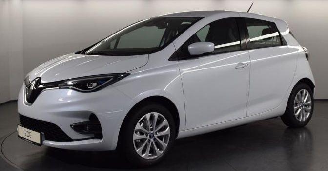 Privat: Renault Zoe Elektro R110 mit 107 PS inkl. Ganzjahresreifen für 119,99€ mtl.   LF 0.36