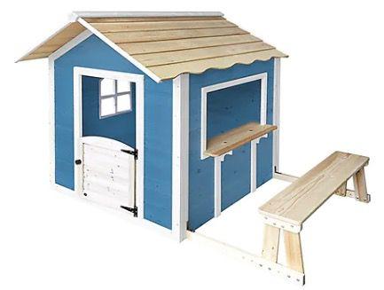 Home Deluxe Spielhaus Der große Palast in Natur oder in Blau ohne Bank für 219,99€ (statt 239€)