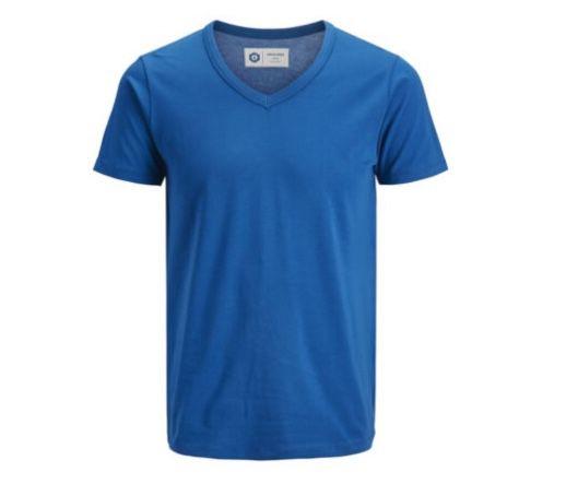 Verschiedene Jack & Jones Shirts mit V-Neck für je 10,99€ (statt 15€)