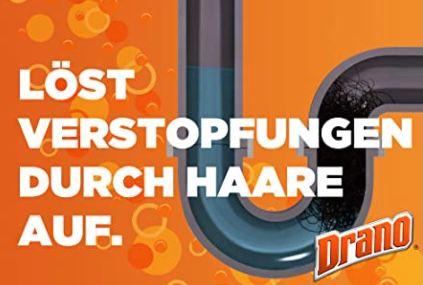 5x Drano (Mr Muscle) Power Gel Rohrfrei Abflussreiniger für 9,21€ (statt 15€)   Prime Sparabo