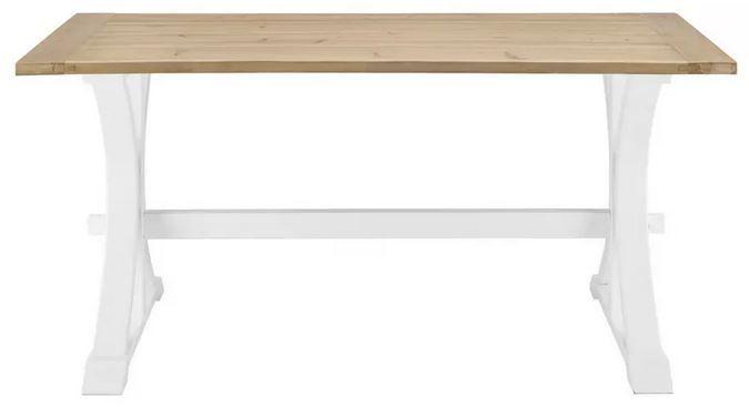 Bessagi Camden Esstisch aus Massivholz 160x80cm für 209,30€ (statt 299€)