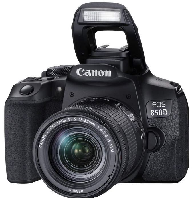Canon 850D DSL Kit mit 18-55 mm STM Objektiv für 789€ (statt 849€)