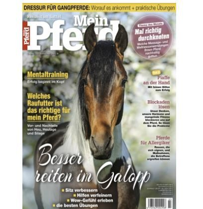Mein Pferd Jahresabo (12 Ausgaben) für 64,80€   Prämie: 50€ V Scheck