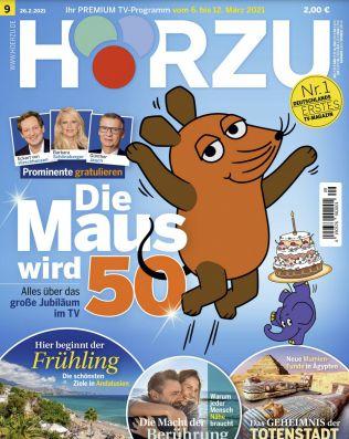 26 Ausgaben HÖRZU TV Zeitschrift Abo für 65€ + 65€ Amazon Gutschein