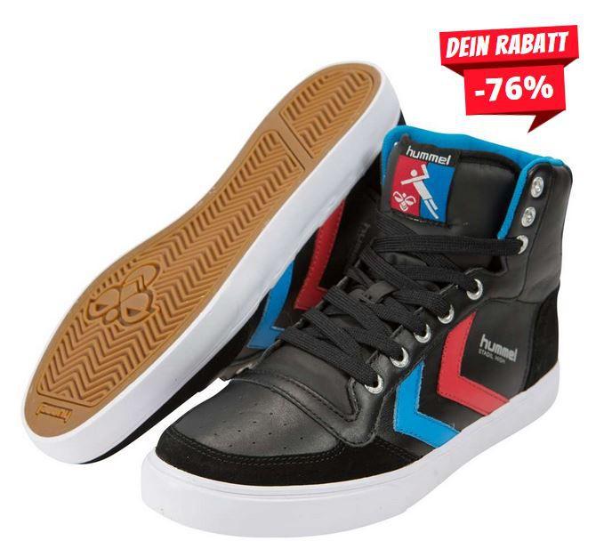 Hummel Mega Sale bis 78% Rabatt z.B. Herren STADIL HIGH Sneaker ab 23,99€ (statt 36€) Restgrößen