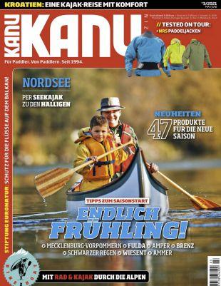 3 Ausgaben vom Kanu Magazin für 21,90€ + Prämie: 20€ BestChoice Gutschein