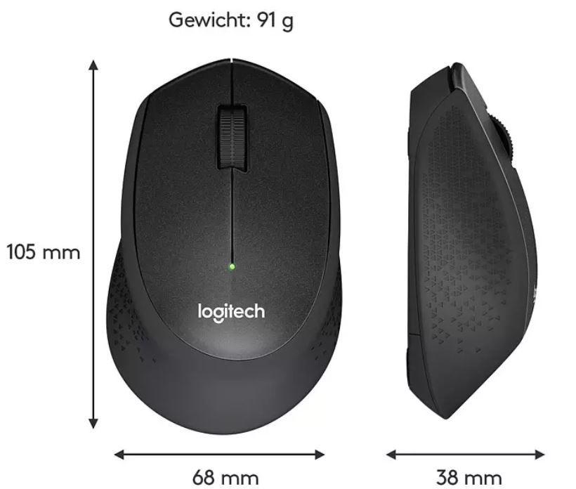 Logitech M330 Silent   kabellose Maus für 20,99€ (statt 29€)