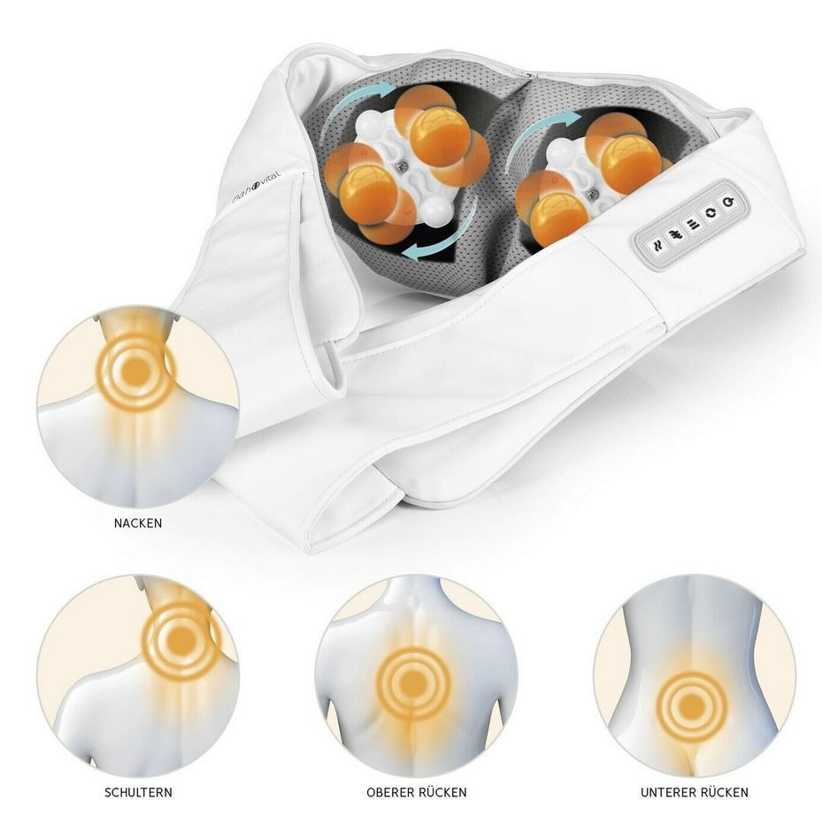 nah vital Nacken  u. Rückenmassagegerät für 39,99€ (statt 50€)