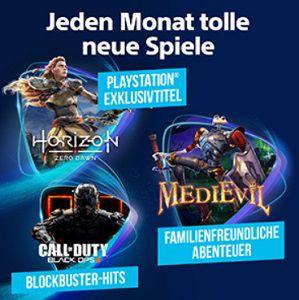 PlayStation Now als O2 Kunde 1 Monat kostenlos
