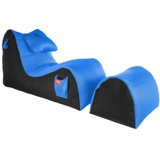 Gamewarez Sitzsack Relax mit Fußablage für 69,99€ (statt 104€)