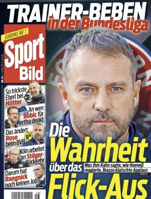 25 Ausgaben Sport Bild für 70€ + Prämie: 70€ BestChoice Gutschein