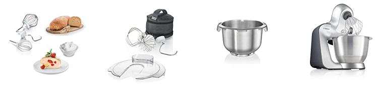 Bosch MUM56340 Küchenmaschine mit viel Zubehör für 259,99€ (statt 341€)