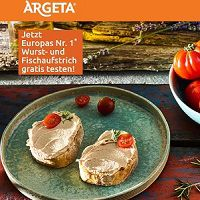 Argeta Wurstaufstrich kostenlos ausprobieren