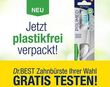 Dr.Best Zahnbürste gratis ausprobieren