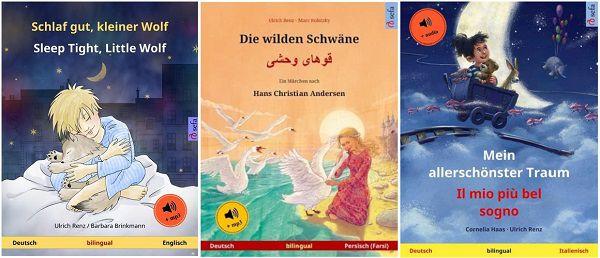 Gratis: 3 Kinderbücher in versch. Sprachen als Download