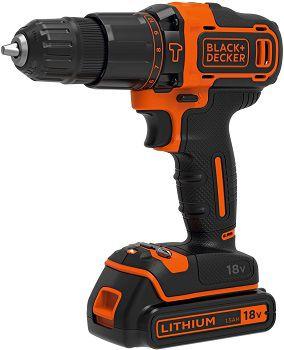 Black & Decker BDCHD18KB Akku Schlagbohrschrauber mit 2 Akkus für 85€ (statt 103€)