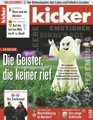 Top! 13 Ausgaben vom Kicker Abo für 71,50€ + 70€ Amazon Gutschein