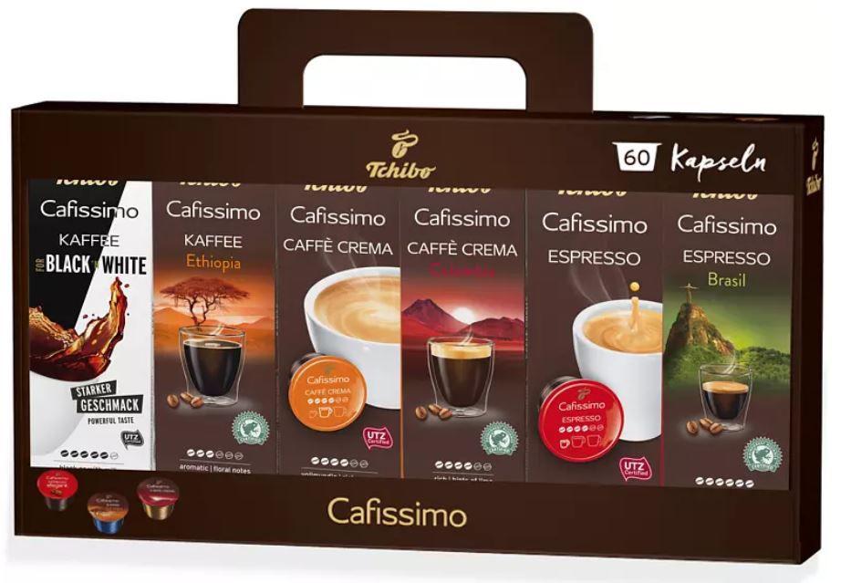 TCHIBO Cafissimo Pure in verschiedenen Farben für 34€ (statt 49€) + 60 Kapseln geschenkt