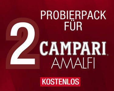 Gratis: Probierpack für 2 Campari Amalfi