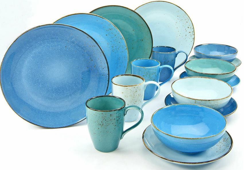 CreaTable 20157 Nature Collection AQUA Kombiservice 16tlg für 54,90€ (statt 65€)
