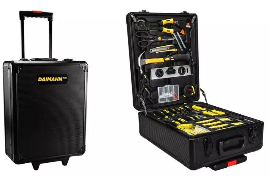 Daimann 499 tlg. Werkzeug Set mit Trolley für 92,98€