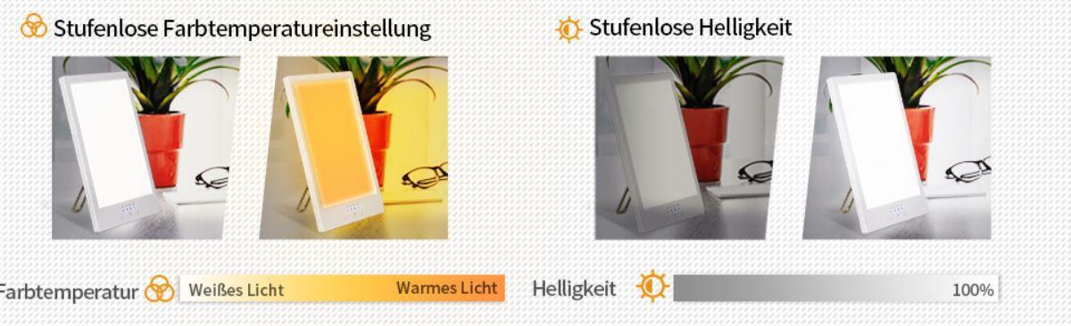 GIANTARM Tageslichtlampe 12000 Lux für 22,99€ (statt 37€)