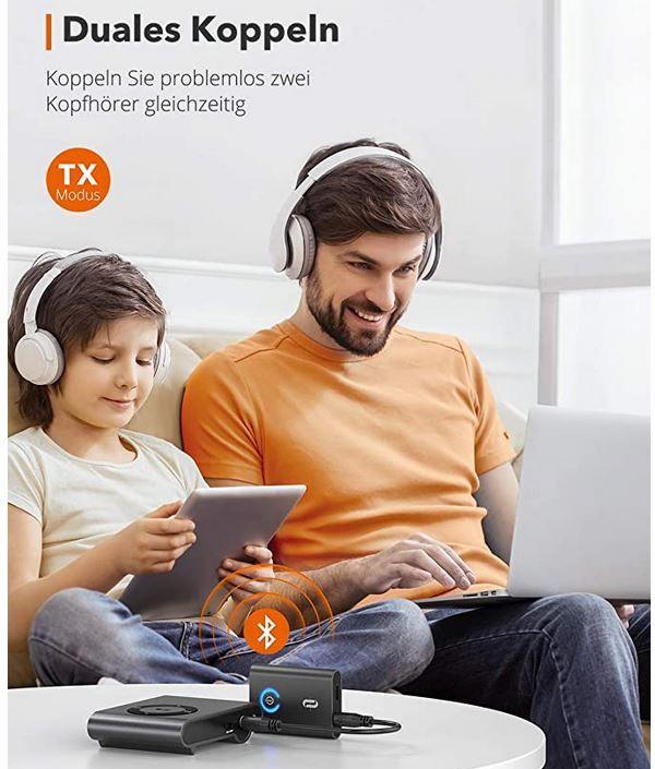 TaoTronics TT BA07 Bluetooth Adapter für 20,39€ (statt 30€)