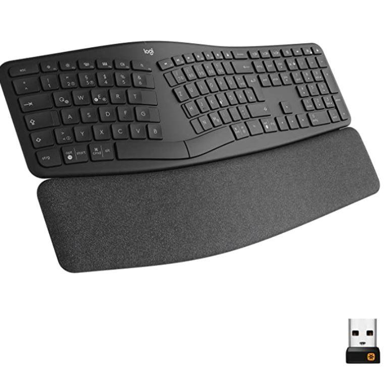 LOGITECH ERGO K860 ergonomische Tastatur für 69,05€ (statt 76€)