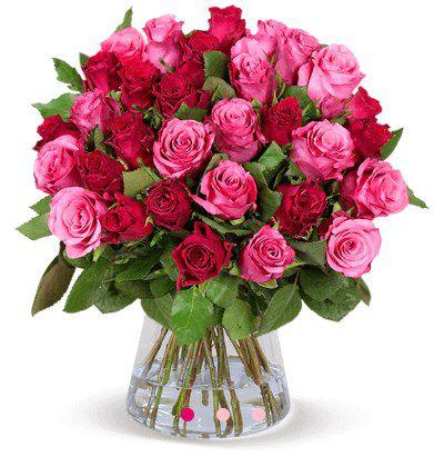 "35 Rosen im Strauß ""Romantic Roses"" für 25,98€"