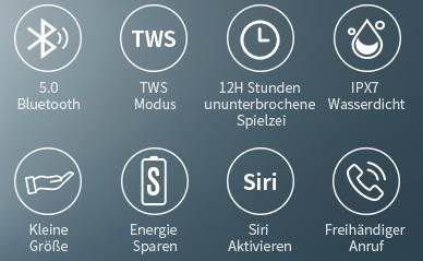 Muzili Bluetooth 5.0 Lautsprecher mit 2x 5W & bis zu 20h Spielzeit für 14,49€ (statt 29€)