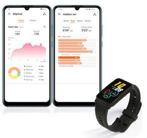 Honor Watch ES Smartwatch (42mm) mit Herzfrequenzmessung für 54,29€ (statt 65€)