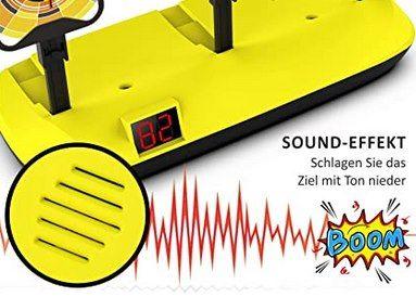 Jionchery elektrische nerf 3er Zielscheibe mit Sound für 8,49€   Prime