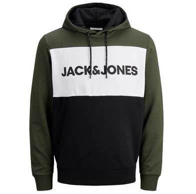 Jack & Jones Colour Block Logo Hoodie für 22,90€ (statt 28€)