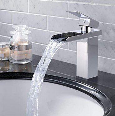 Autlead AKFS01 Wasserfall Wasserhahn mit Zubehör für 29,99€ (statt 40€)