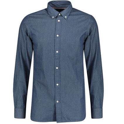 Tommy Hilfiger Hemd Slim Fit in Indigo für 46,71€ (statt 54€)