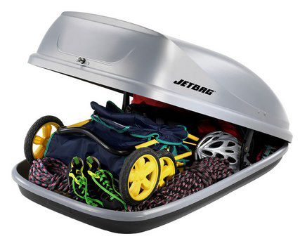 Jetbag Sprint 320 Dachbox für 99,99€ (statt 150€)   Nur Abholung!