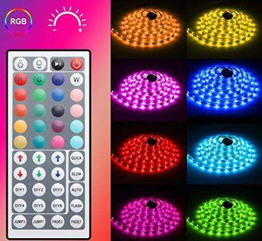 5m MINGER RGB LED Streifen mit Fernbedienung für 13,59€ – Prime