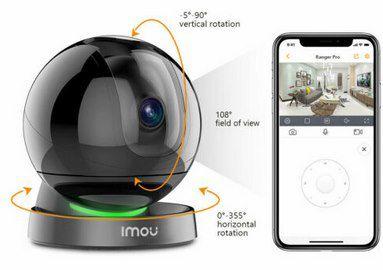 Imou Ranger Pro 1080p Überwachungskamera mit Bewegungsverfolgung für 47,99€ (statt 70€)