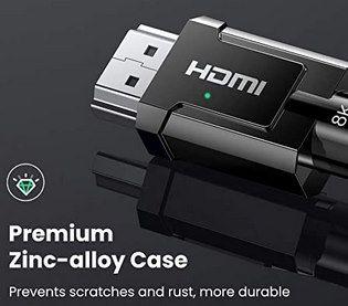 UGREEN 8K HDMI 2.1 Kabel für 8K@60Hz / 4K@120Hz & 48Gbps für 8,99€ (statt 16€)   Prime